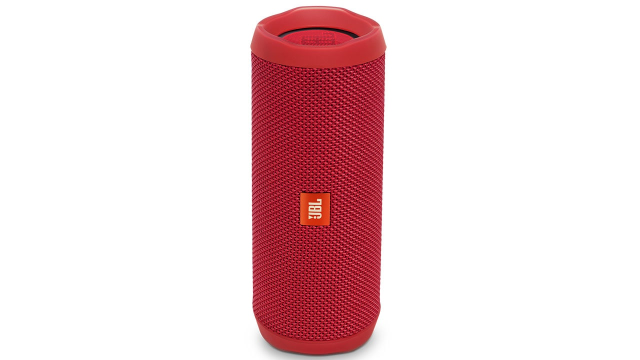 The outer grill is a tough cloth-like protection, protecting the speaker well