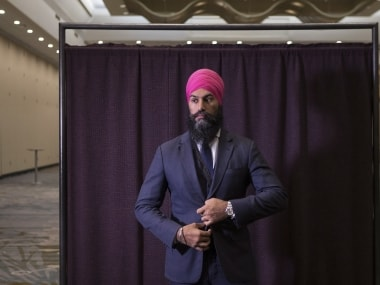 Indian-origin Jagmeet Singh makes history as first non-white leader of major opposition party in Canada Parliament