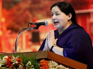 File image of former Tamil Nadu Chief Minister J Jayalalithaa . PTI