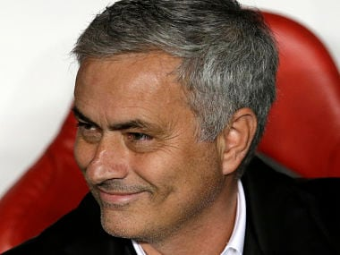 File image of Manchester United manager Jose Mourinho. AP