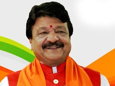 File image of Kailash Vijayvargiya. PTI