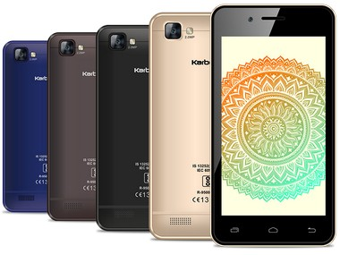 Karbonn A 40 Indian Smartphone