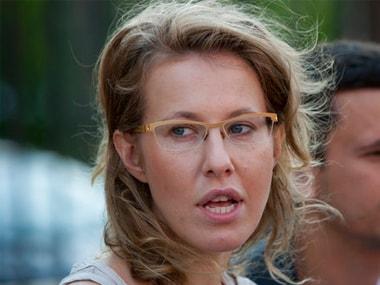 File image of Ksenia Sobchak. AP