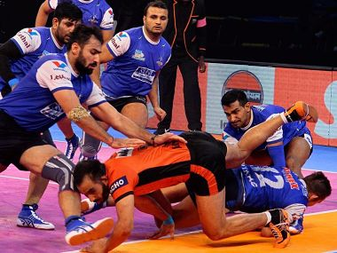 Haryana Steelers are second in Zone A. Image courtesy: prokabaddi.com