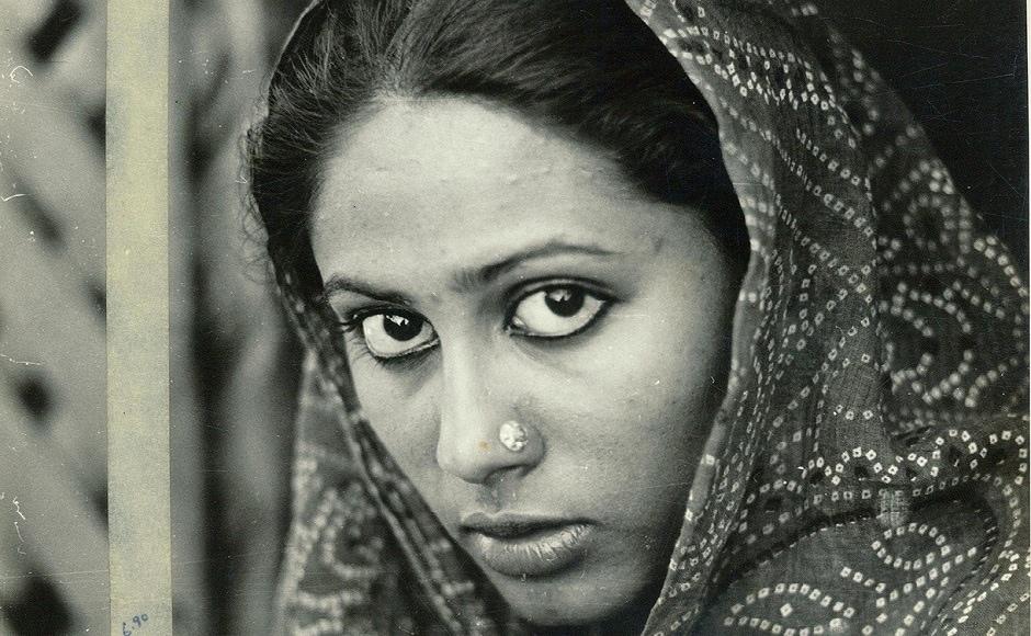 Smita Patil in Shyam Benegal's 1976 film, Manthan. Image via Facebook
