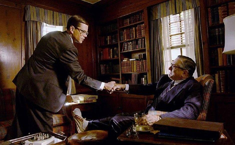 In the 2006 film, The Good Shepherd directed by Robert De Niro, Matt Damon was seen sharing the screen with De Niro and Angelina Jolie. The film revolved around real events that brought in light the emergence of counter intelligence within the CIA. Image via Facebook/ Cinematic Passion.