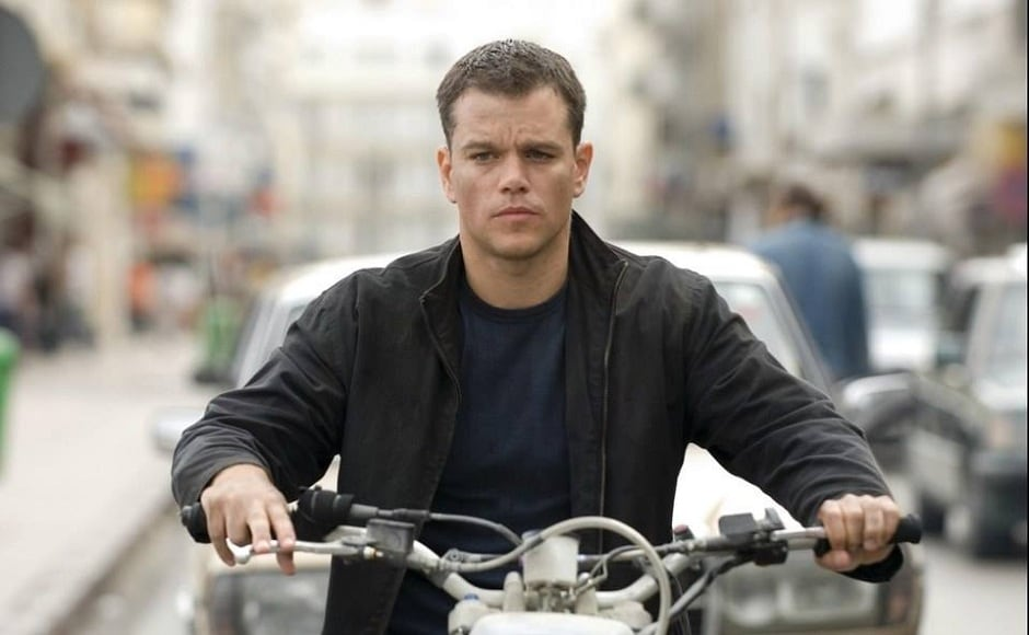 The Bourne trilogy — The Bourne Identity (2002), The Bourne Supremacy (2004), The Bourne Ultimatum (2007) — based on Robert Ludlum's bestselling novels, introduced Damon to the realm of action thriller. He received massive success and fandom, after playing the character of CIA agent Jason Bourne who suffers from a chronic memory loss disorder. Image via Facebook/ Vanity Fair.