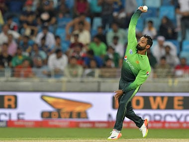 File image of Pakistan's Muhammad Hafeez. AFP