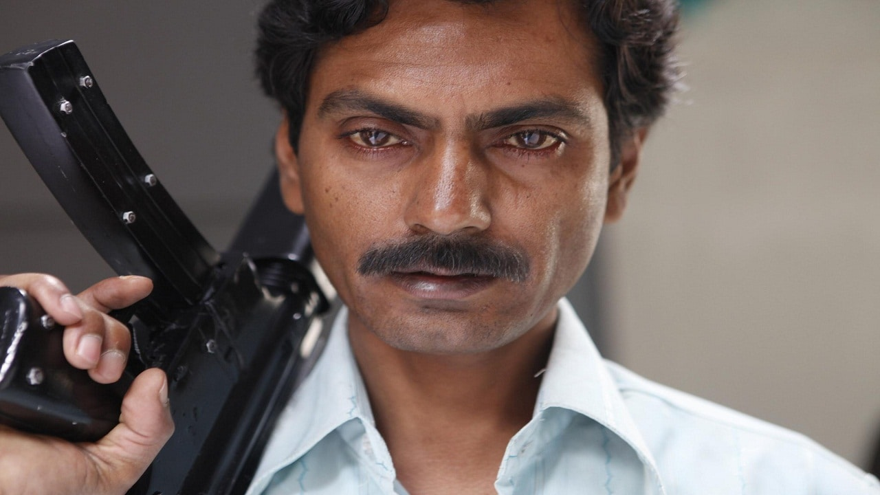 Nawazuddin Siddiqui in a still from Gangs of Wasseypur. YouTube