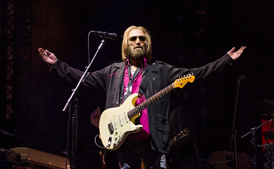 Petty formed his first band, Mudcrutch, in Gainesville at the age of 20. After the band dissolved in 1975, Petty recruited fellow Mudcrutchers Mike Campbell and Benmont Tench, along with Ron Blair and Stan Lynch to form his most popular group, the Heartbreakers. Image from AP