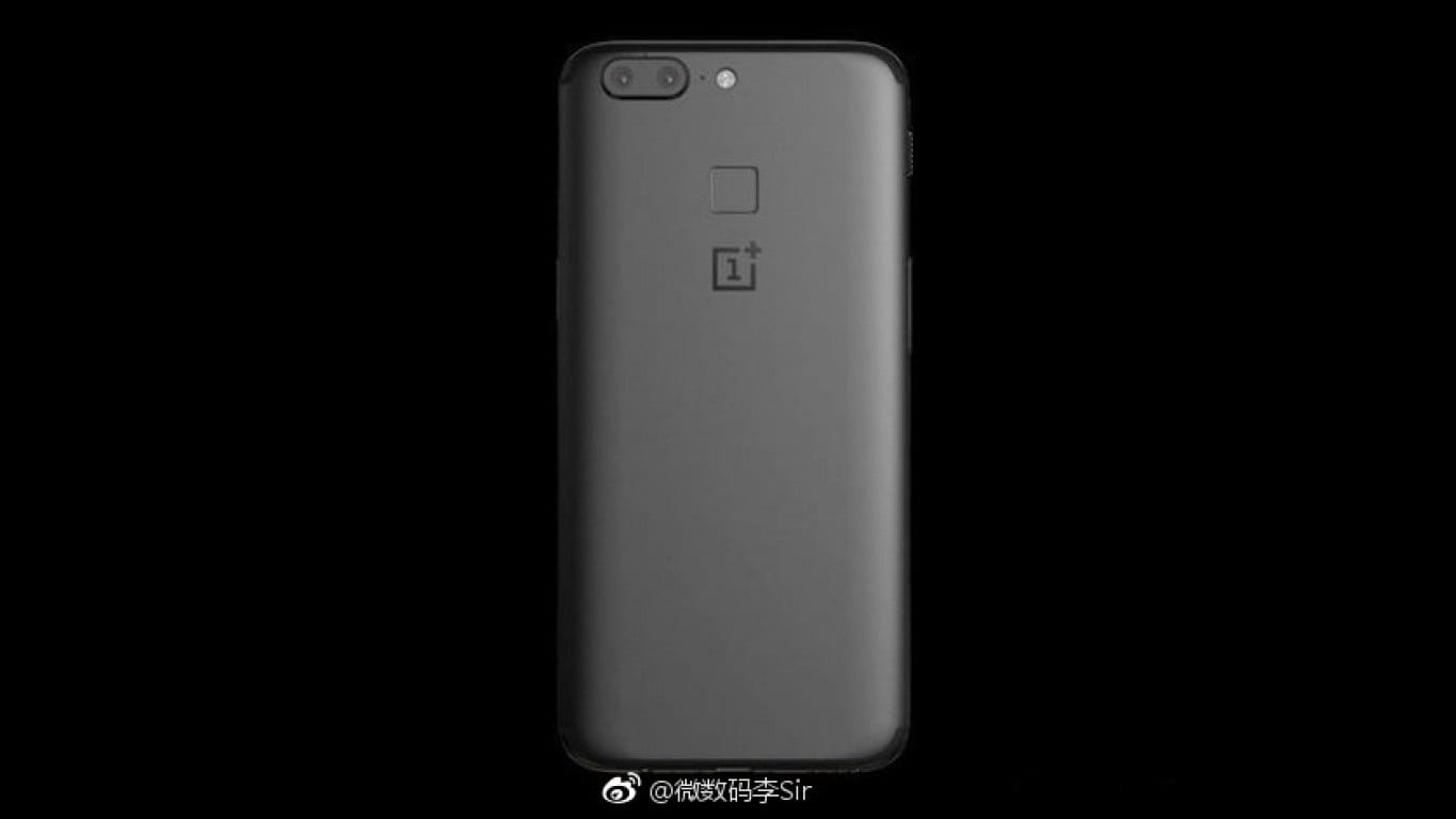 OnePlus 5T rendered back. Image: GSMArena/Weibo