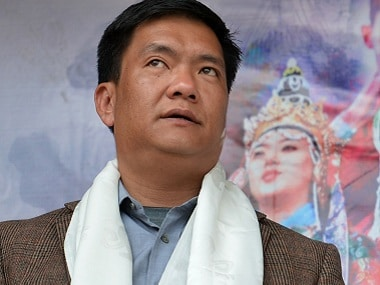 File photo of Pema Khandu  AFP