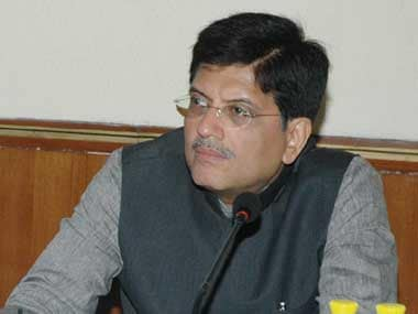 File image of Railway minister Piyush Goyal. Image courtesy: PIB
