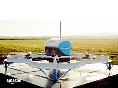 Amazon Prime Air. Image: Amazon