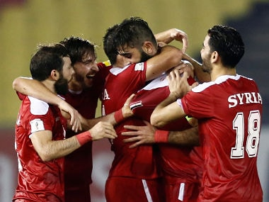 FIFA World Cup 2018 qualifiers: Syrian players hope to bring joy to war-torn homeland by reaching finals