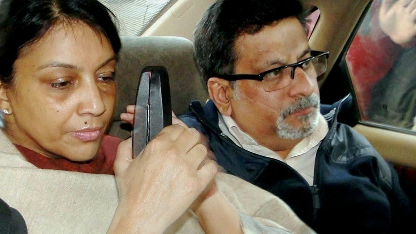 Nupur and Rajesh Talwar. PTI/File Photo