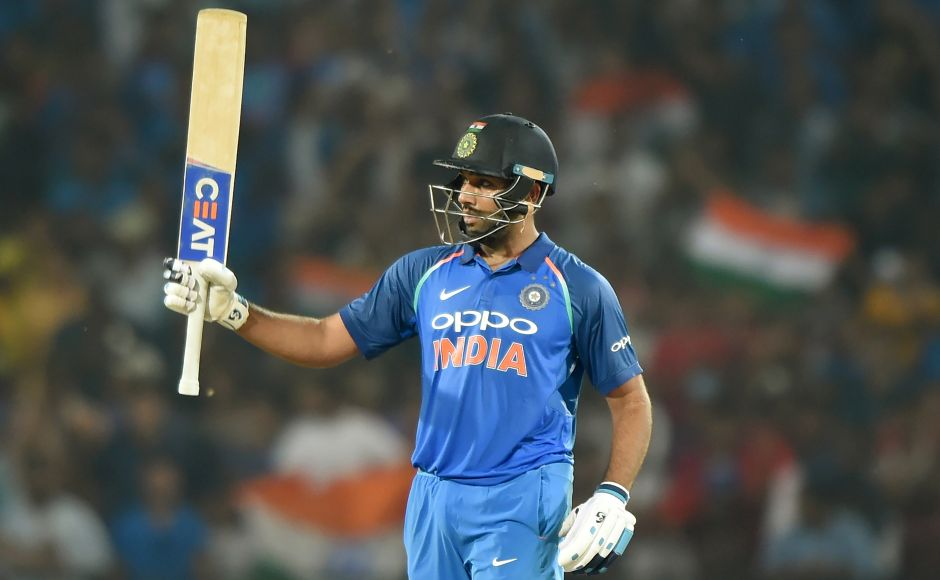 India opener Rohit Sharma hit a dominant century chasing 243 for victory. Riding on Sharma's 109-ball 125, the hosts achieved their target in 42.5 overs at Nagpur and moved to the top of the ODI world rankings table. AFP