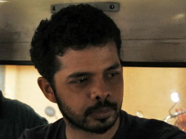 S Sreesanth ban for his involvement in the 2013 spot-fixing scandal had recently been upheld by the Kerala High Court. Reuters