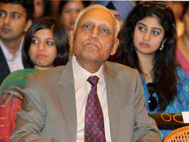 File imag of former IAF chief SP Tyagi. PTI