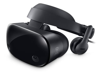 The headset features inside-out tracking and OLED technology