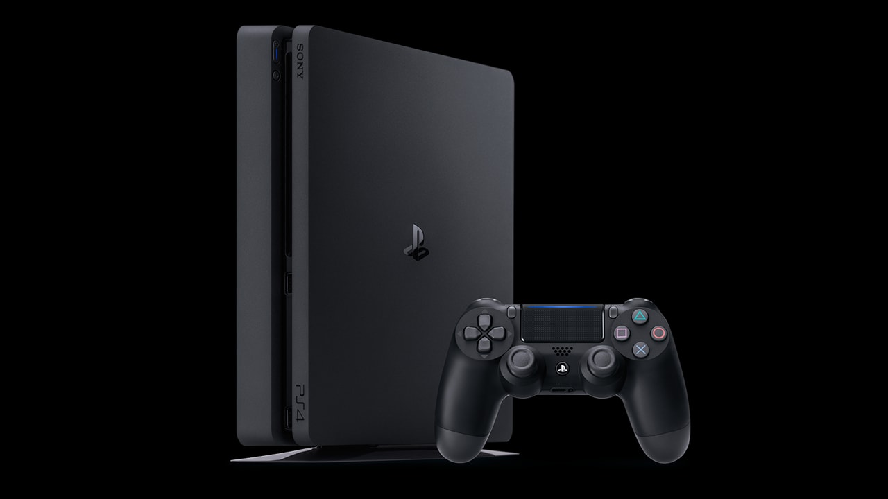 The Sony PlayStation 4 Slim