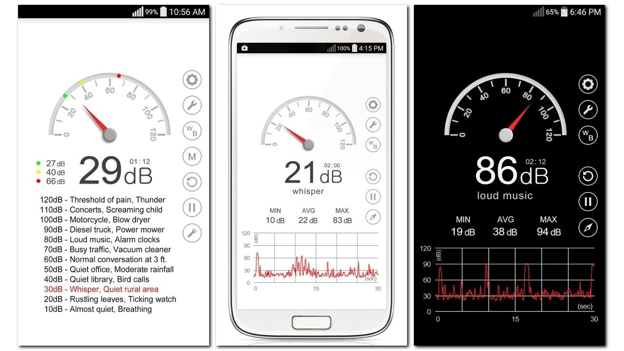 Sound Meter App. Google Play Store
