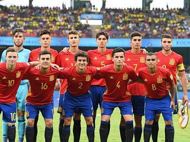 Image of Spain U-17 Football Team. Getty Images