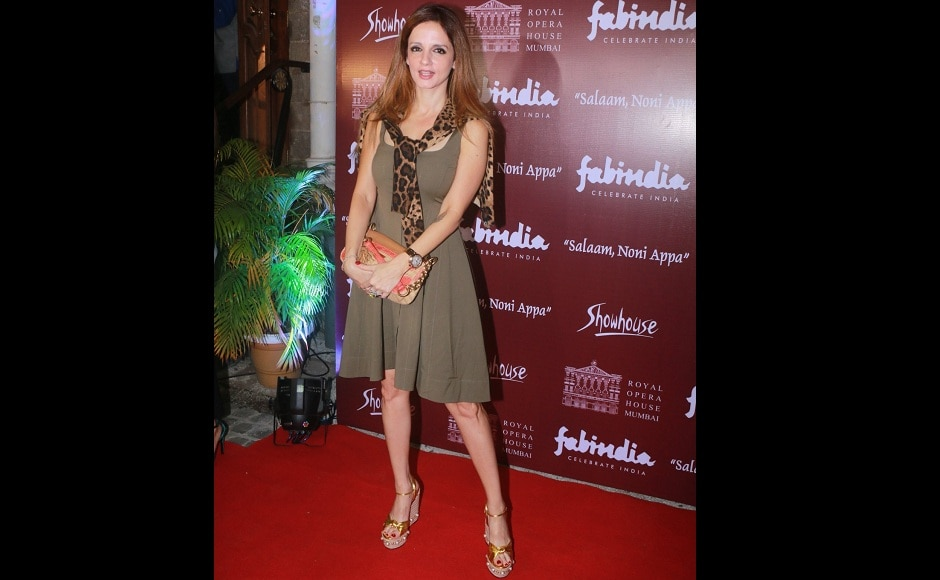 Sussanne Khan marked her presence too.
