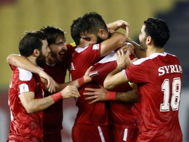 Syria managed to notch up hard-fought draws against heavyweights South Korea and Iran. Reuters
