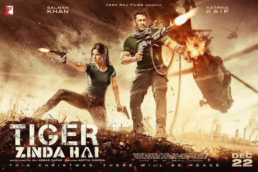 Tiger Zinda Hai poster. Image via Twitter/ @yrf