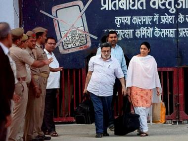 Aarushi-Hemraj murder case: Rajesh, Nupur Talwar walk out of jail, head home in Noida