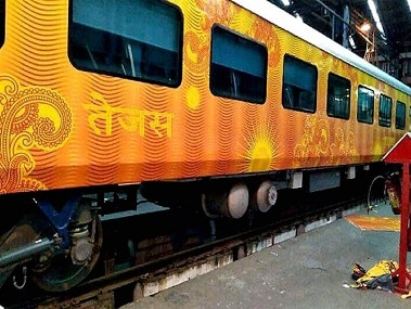 The Tejas Express was launched in May this year. Image courtesy: CNN-News18