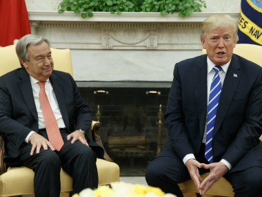 Donald Trump meets UN chief Antonio Guterres, says global body has not fulfilled its enormous potential