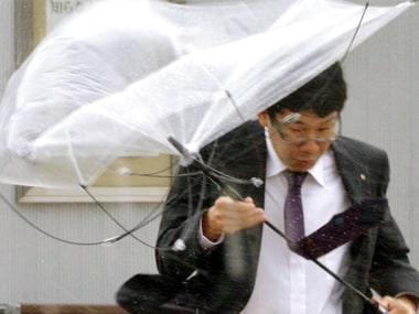 Typhoon Lan lashes Japan on election day, leaves five dead, one missing, scores injured