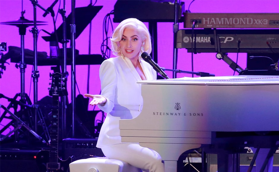 Lady Gaga was among the many singers and musicians who performed at the concert. Others included Robert Earl Keen, The Gatlin Brothers, Stephanie Quayle and Sam Moore. Reuters