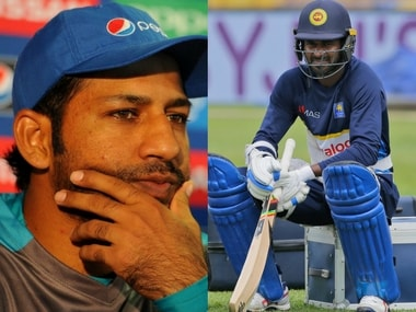 Pakistan captain Sarfraz Ahmed and Sri Lanka captain Upul Tharanga. Agencies