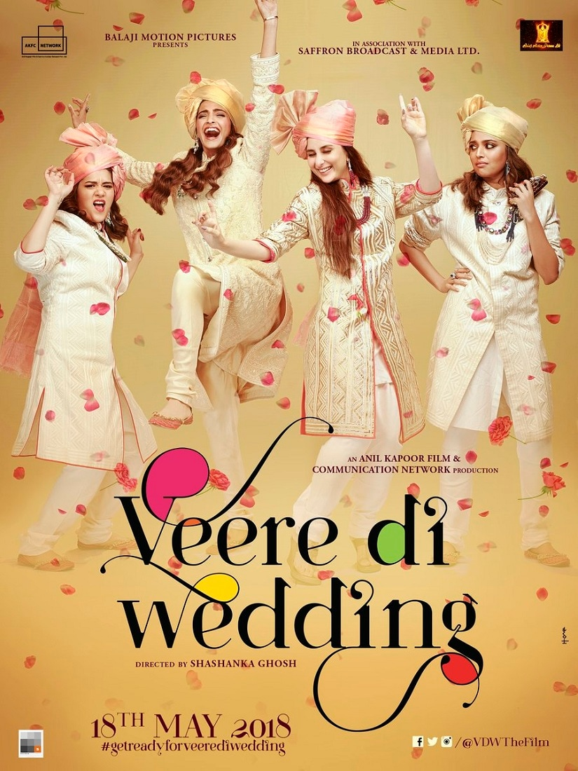 Veere Di Wedding ladies have a gala time in films poster; release confirmed for 18 May