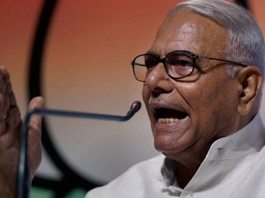 File image of BJP leader Yashwant Sinha. PTI