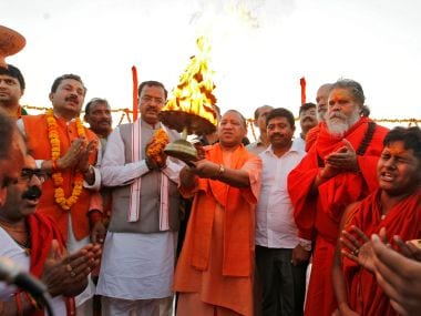 Yogi Adityanaths record-setting Diwali: In Ayodhya, UP CM likely to bring up issue of Ram statue, light 2 lakh diyas