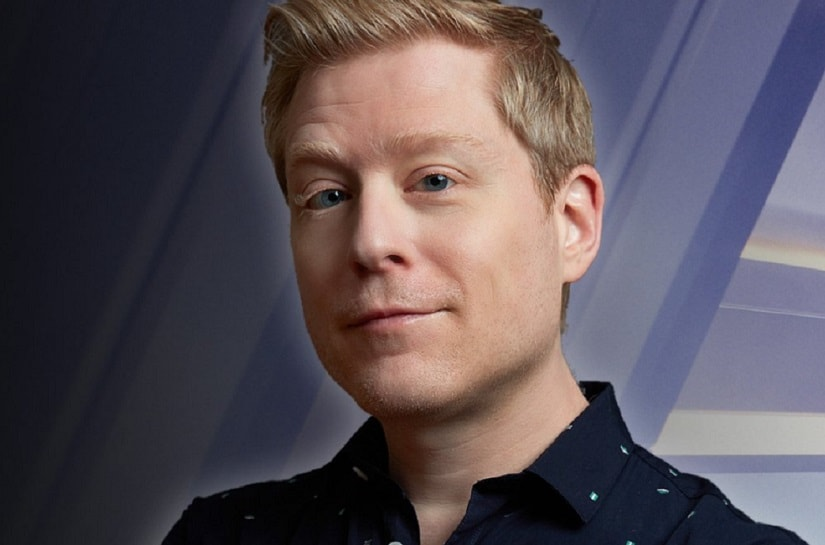 Anthony Rapp. Image from Twitter/@TrekSpace.