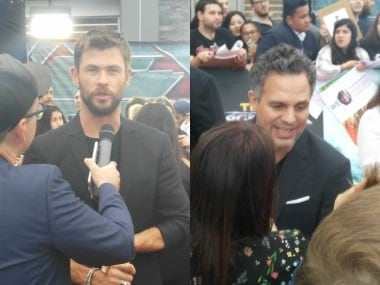 Thor: Ragnarok Australia premiere - Smashing Chris Hemsworth was fun, says Mark Ruffalo