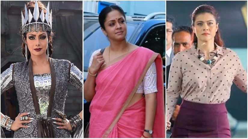Comeback queens: Senior actors like Sridevi, Jyothika, Kajol have charted great returns to South cinema