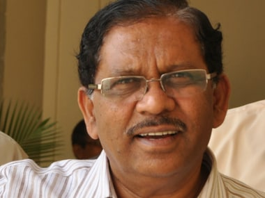 File image of KPCC chief G Parameshwara. Wikimedia Commons