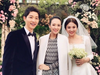 Descendants of the Sun actors Song Hye-Kyo, Song Joong-Ki get married in Seoul