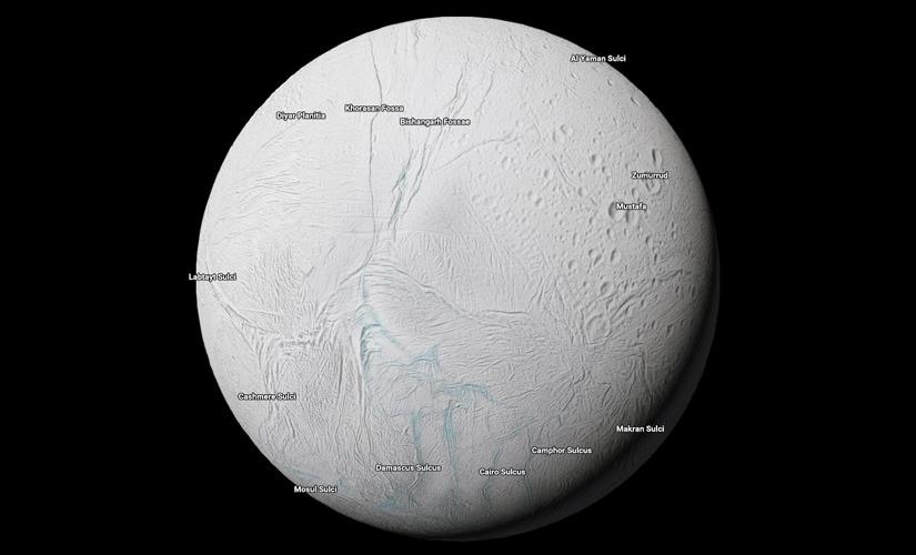 Enceladus. Image: Google.