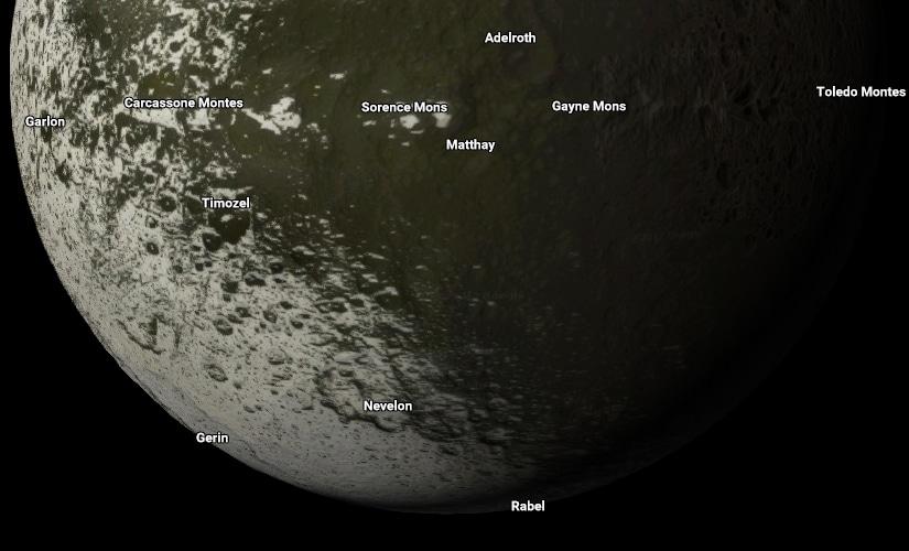 Iapetus. Image: Google Maps.
