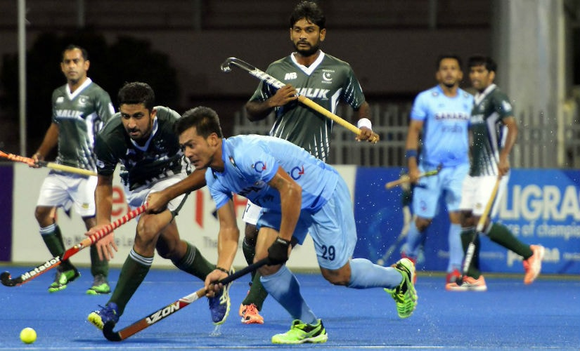 Action from India's comprehensive win over Pakistan in the Hockey Asia Cup. Twitter/ @TheHockeyIndia