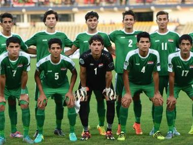 File photo of Iraq U-17 team. AFC/FIFA
