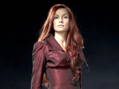 Famke Janssen as Jean Grey in X-Men. Image from Twitter/@BlogCinemaNews.