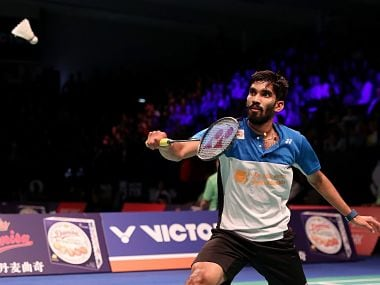File image of Kidambi Srikanth. Image Courtesy: Twitter @srikidambi
